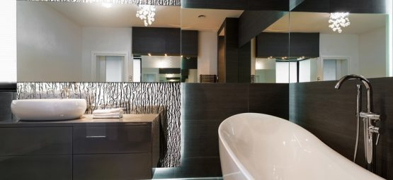 Stunning modern bathroom design